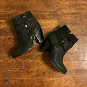 Vince Camuto Black Heeled Booties